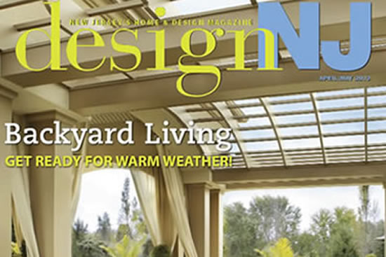 As seen on the cover of Design NJ Magazine